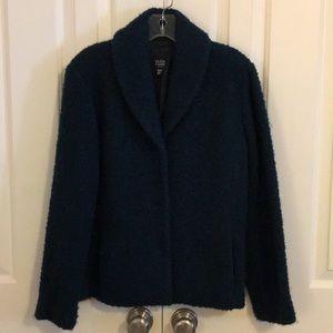 Eileen Fisher boiled wool type jacket